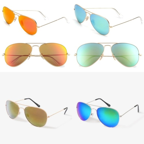 Ray Ban Flash Mirror Lenses