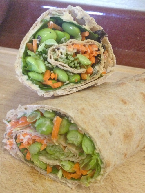 Vegan Veggie Roll-up